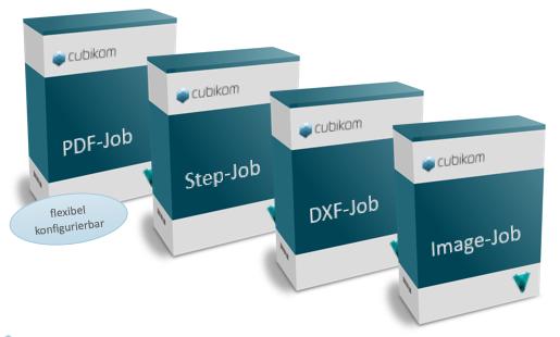 cubikom Vault Neutralformat-Jobs