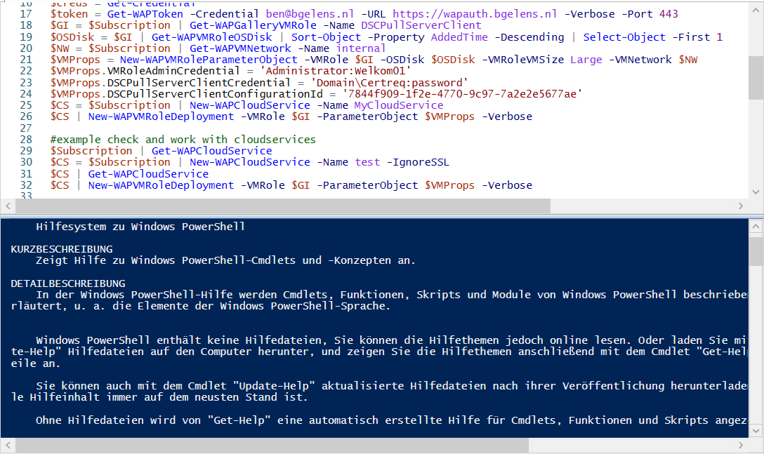cubikom Toolbox PowerShell On Status Change