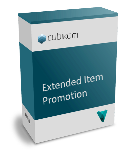cubikom Toolbox Extended Item Promotion